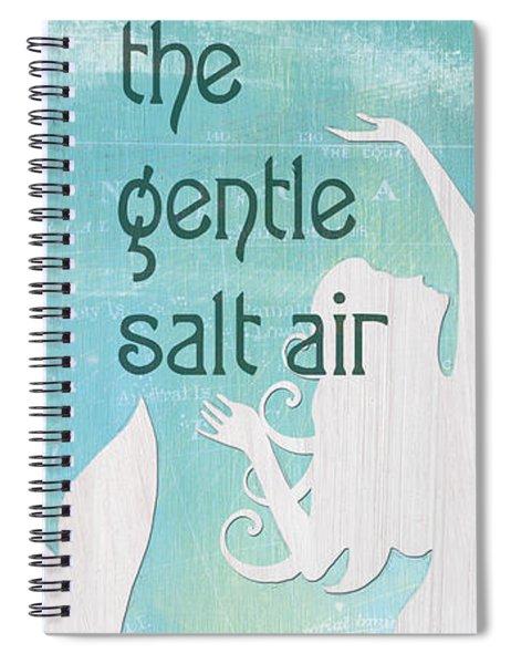 La Mer Mermaid 2 Spiral Notebook