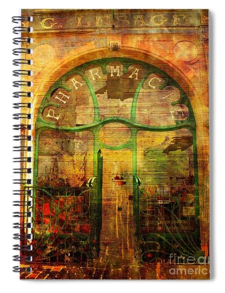 La Pharmacie 2016 Spiral Notebook
