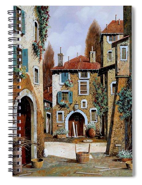 La Piazzetta Spiral Notebook