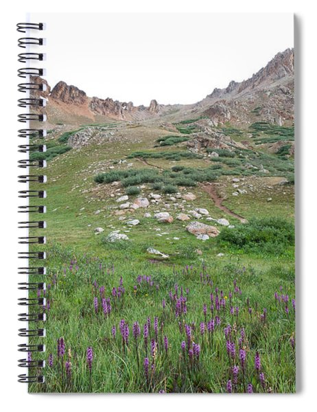 La Plata Peak Spiral Notebook