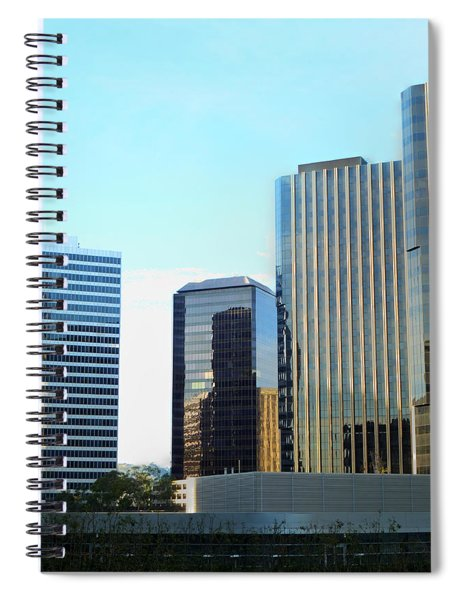 La Reflective Spiral Notebook