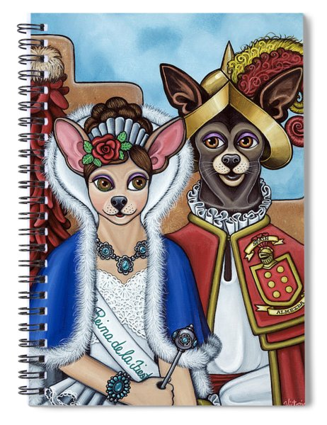 La Reina Y Devargas Spiral Notebook
