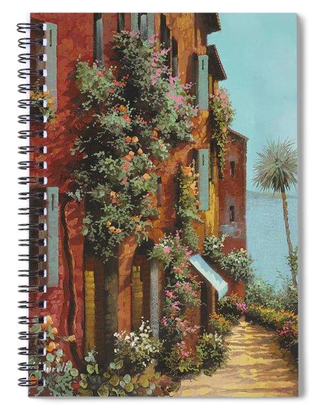 La Strada Verso Il Lago Spiral Notebook