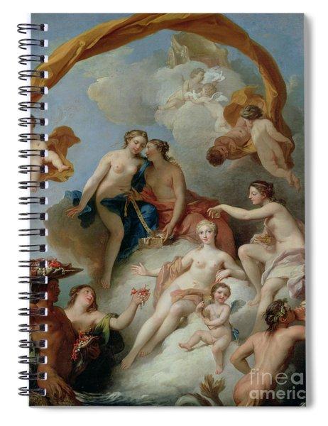 La Toilette De Venus Spiral Notebook