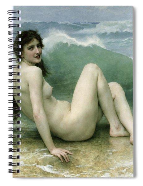 La Vague Spiral Notebook