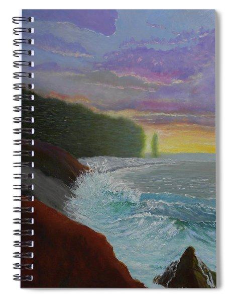 La Verna Sunrise Spiral Notebook