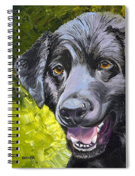 Lab Out Of The Pond Spiral Notebook