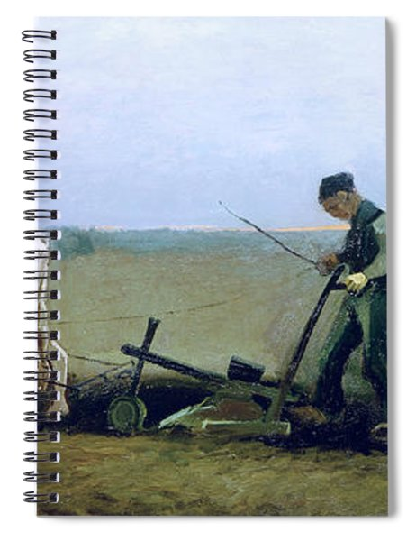 Labourer And Peasant  Spiral Notebook