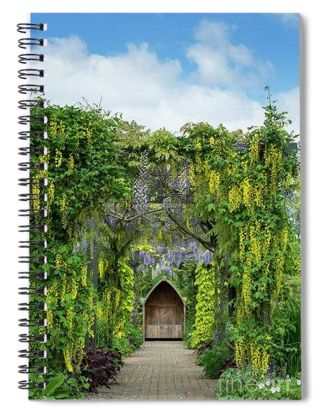 Laburnum And Wisteria Archway Spiral Notebook