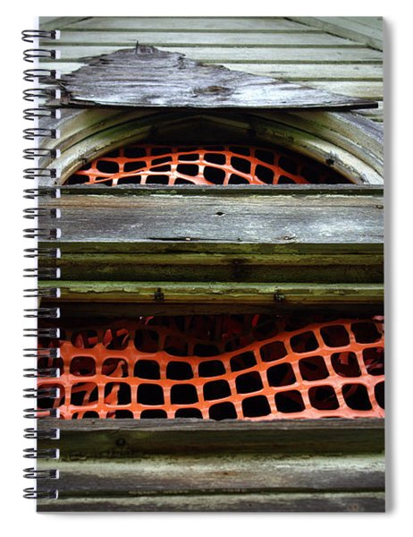 Lace Curtains Spiral Notebook