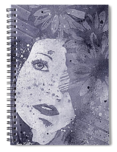 Lack Of Interest - Silver Spiral Notebook