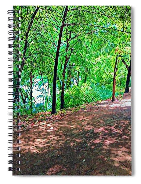 Lady Bird Trail Spiral Notebook