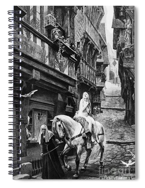Lady Godiva, 11th Century Spiral Notebook