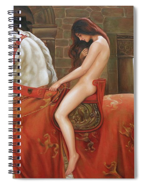 Lady Godiva By John Collier Spiral Notebook