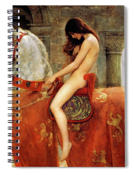 Lady Godiva, John Collier, 1897, Herbert Art Gallery And Museum Spiral Notebook