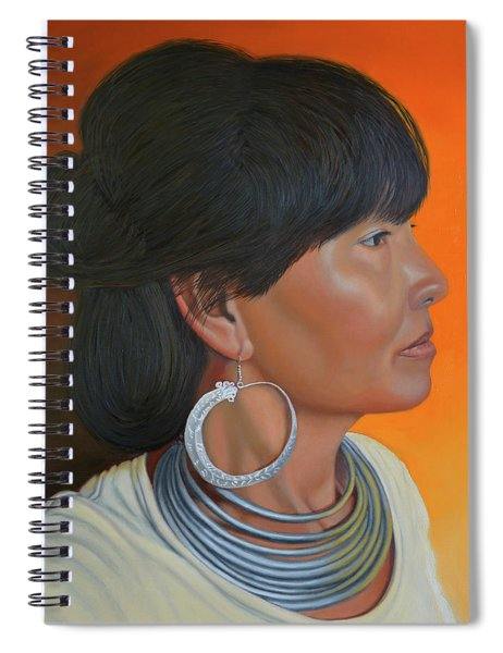 Lady Of Sapa Spiral Notebook