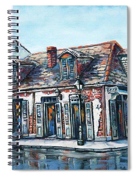 Lafitte's Blacksmith Shop Spiral Notebook