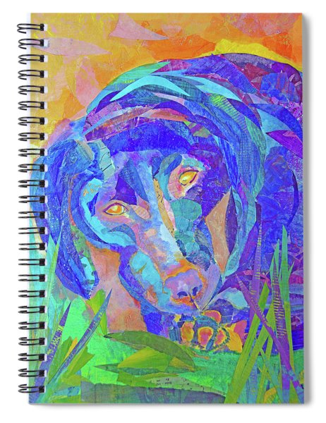 Laila The Lab Spiral Notebook