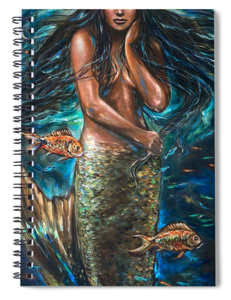 Lailani Mermaid Spiral Notebook