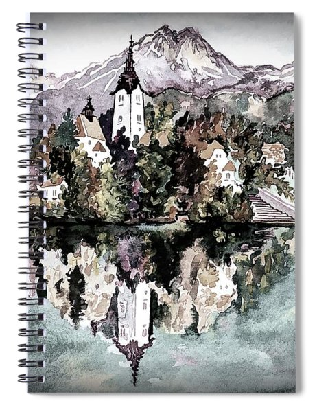 Lake Bled - Bled, Slovenia Spiral Notebook
