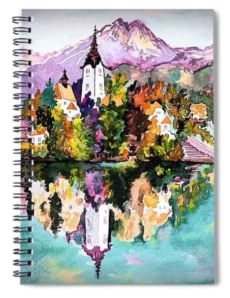 Lake Bled - Slovenia Spiral Notebook