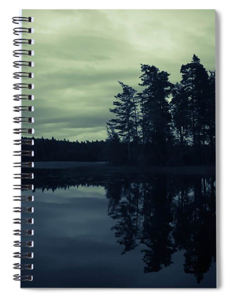 Lake By Night Spiral Notebook