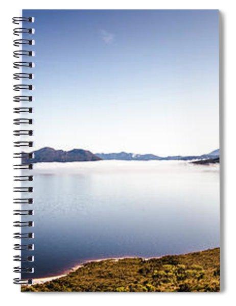Lake Edgar Dam Southwest Tasmania Spiral Notebook