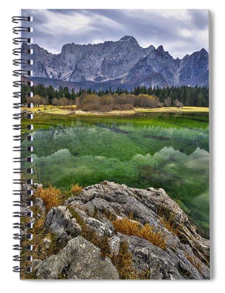 Lake Fusine Spiral Notebook