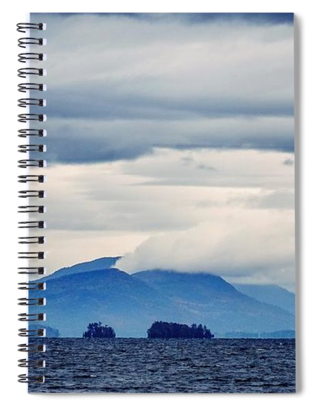 Lake George Is The Queen Of American Lakes Spiral Notebook
