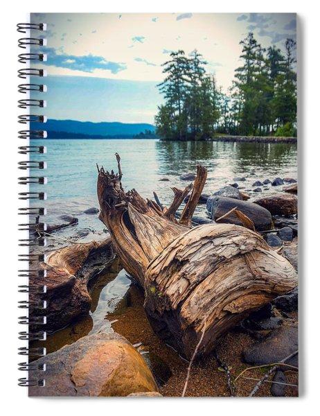 Lake George Palette Spiral Notebook