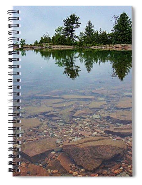 Lake Huron Island Spiral Notebook