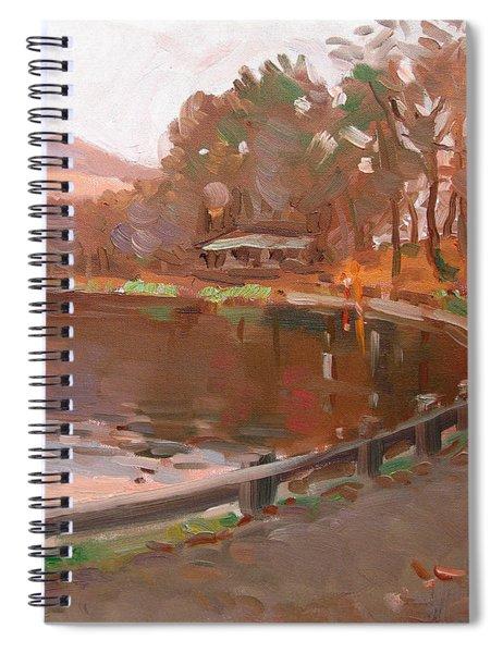 Lake In Bear Mountin Spiral Notebook