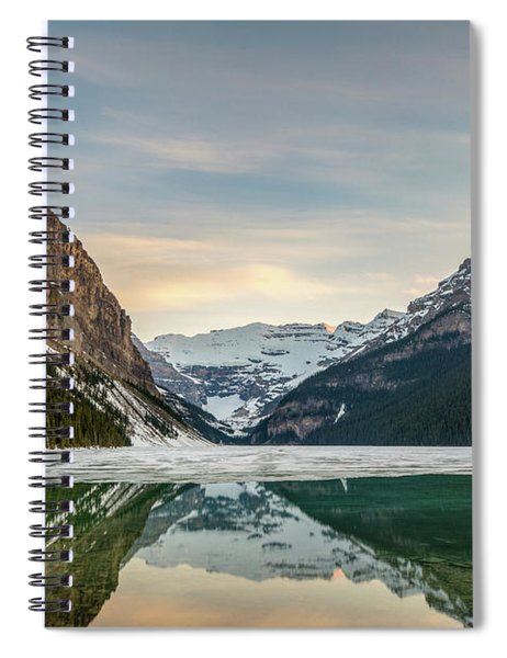 Lake Louise Sunset Spiral Notebook