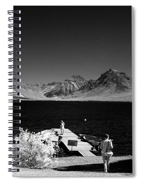 Lake Mcdonald At Apgar Spiral Notebook