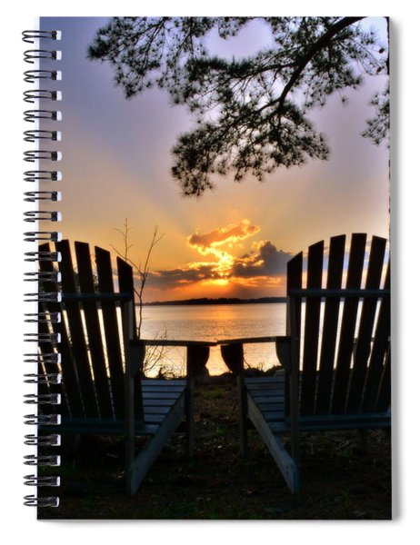 Lake Murray Relaxation Spiral Notebook
