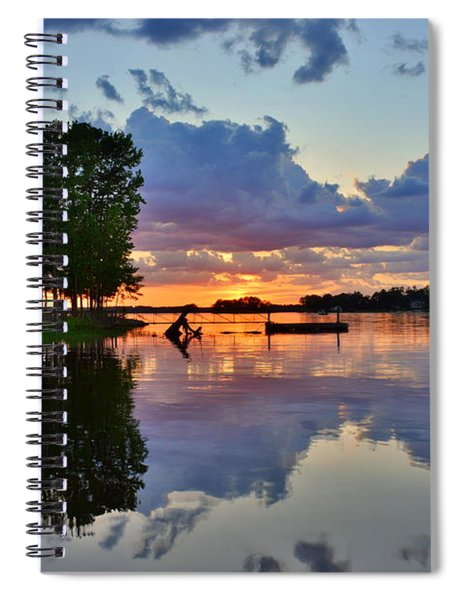 Lake Murray Sc Reflections Spiral Notebook