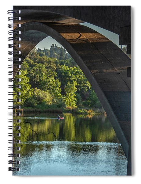 Lake Natoma Arch Spiral Notebook
