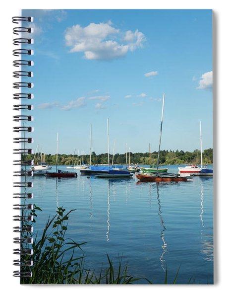 Lake Nokomis Minneapolis City Of Lakes Spiral Notebook
