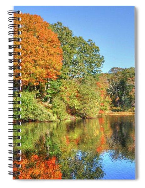 Lake Noquochoke, Dartmouth, Ma Spiral Notebook