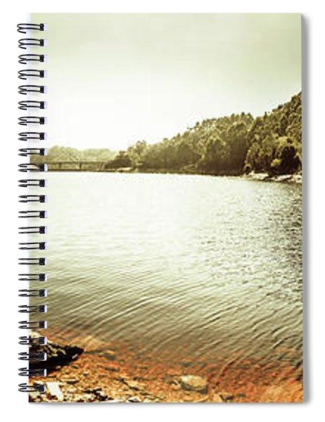 Lake Pieman, West Tasmania Spiral Notebook