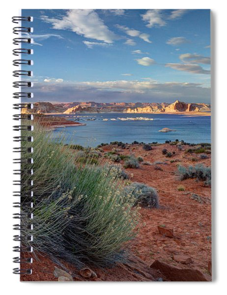 Lake Powell Page Arizona Spiral Notebook