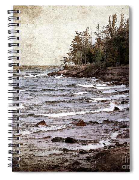 Lake Superior Waves Spiral Notebook