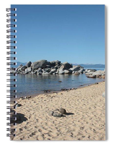 Lake Tahoe Morning Spiral Notebook
