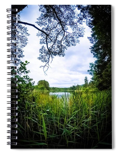 Lake View Spiral Notebook