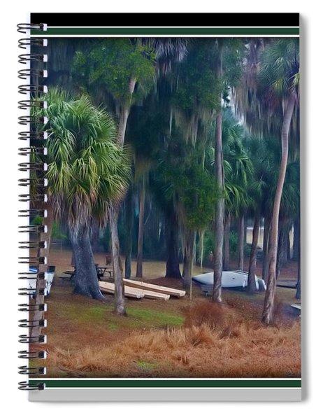 Lake Wauburg Rain Spiral Notebook