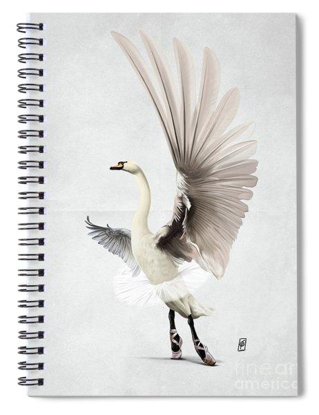 Lake Wordless Spiral Notebook