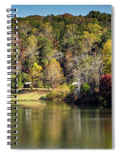 Lake Zwerner, Georgia Spiral Notebook