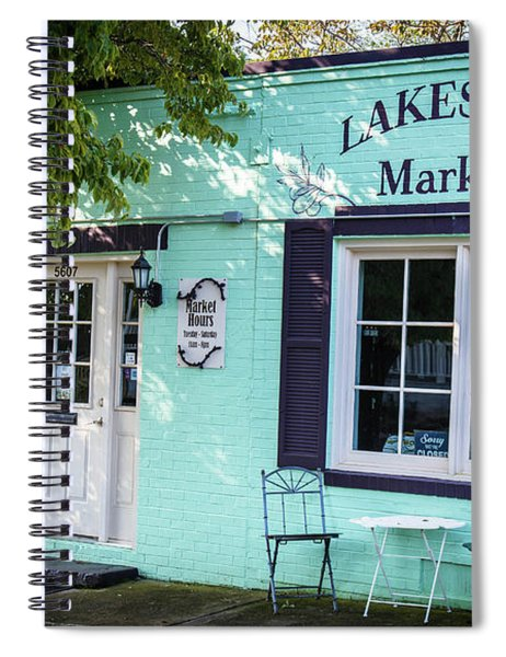 Lakeside Market Spiral Notebook