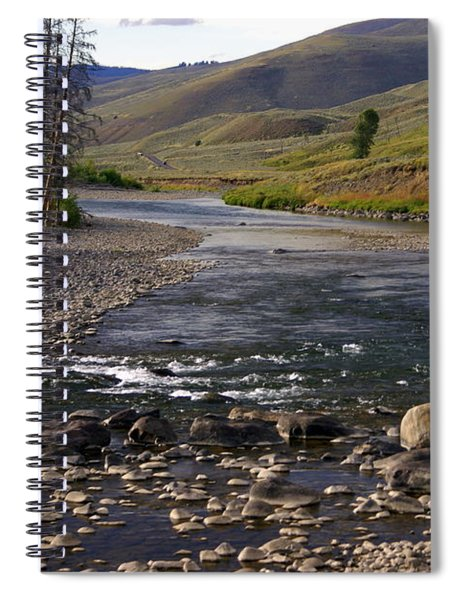 Lamar Valley 3 Spiral Notebook