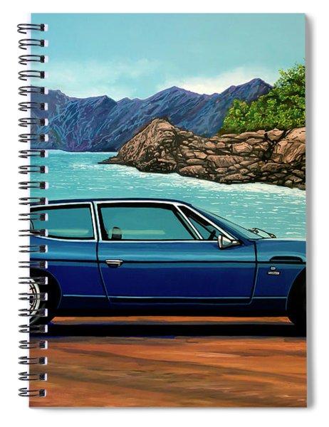 Lamborghini Espada 1968 Painting Spiral Notebook